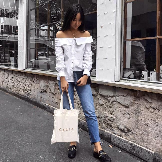 Street style châu Á: không hẹn mà gặp, các quý cô châu Á đều đồng loạt chuyển sang style nữ tính bất ngờ - Ảnh 9.