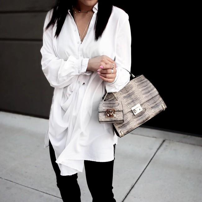 Street style châu Á: không hẹn mà gặp, các quý cô châu Á đều đồng loạt chuyển sang style nữ tính bất ngờ - Ảnh 12.