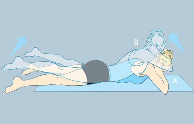 5 động tác yoga chỉ cần tập 3 lần/tuần là đã giúp bạn có vòng 2 phẳng lì đón Tết - Ảnh 5.