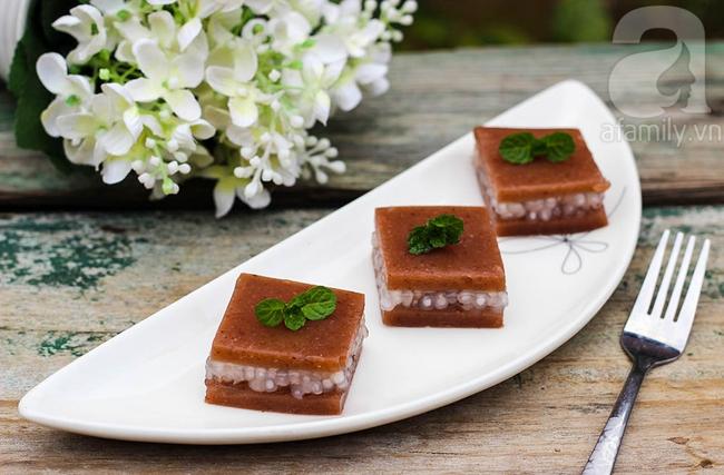 Thạch đậu đỏ tráng miệng ngày tết là chuẩn nhất - Ảnh 1.
