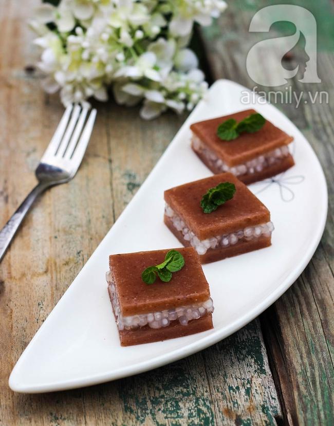 Thạch đậu đỏ tráng miệng ngày tết là chuẩn nhất - Ảnh 12.