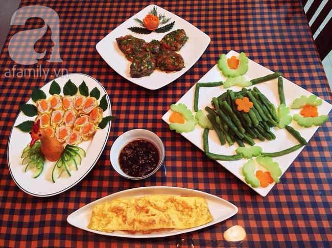 Mẹ Tít chia sẻ thực đơn cho cả tuần ngon đẹp đủ chất - Ảnh 3.