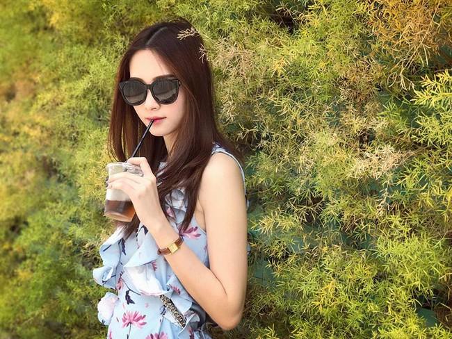 Hoa hậu Thu Thảo xinh như tiên nữ trước ống kính máy quay của bạn trai đại gia - Ảnh 3.