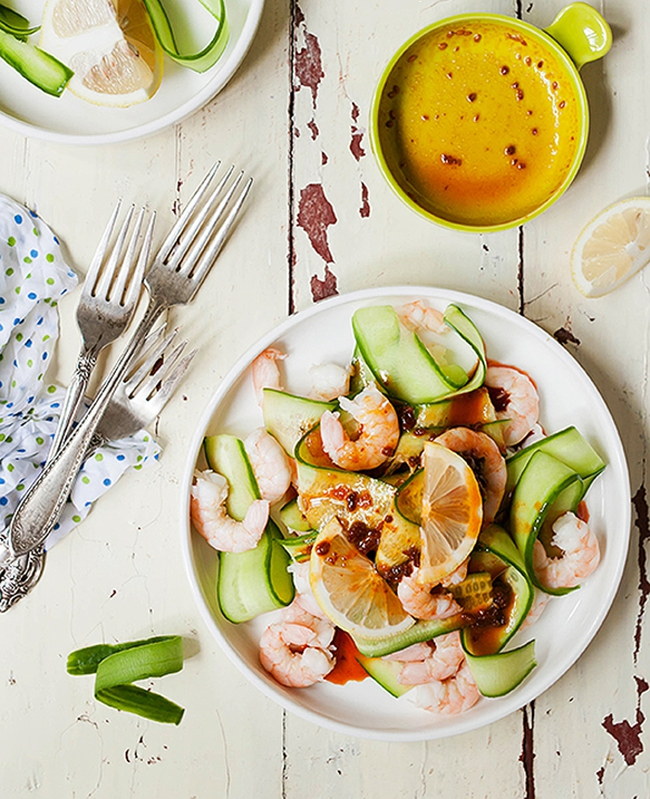 Ăn đã miệng không ngán lại giữ dáng với salad tôm chanh - Ảnh 7.