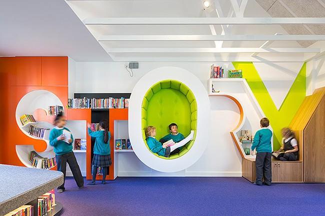 Những trường học được thiết kế như một tác phẩm nghệ thuật đầy cảm hứng trên thế giới - Ảnh 3.