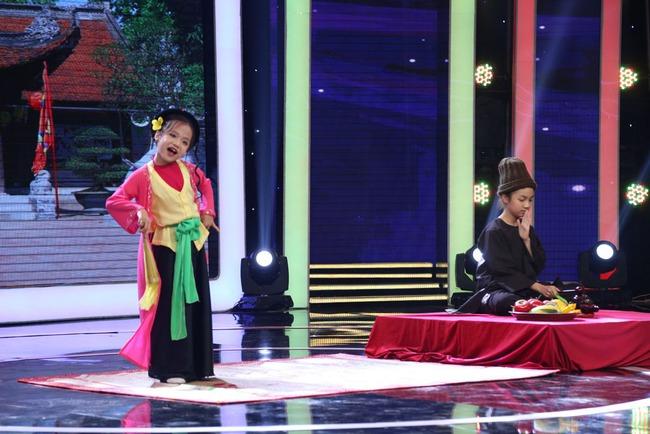 Thị Mầu 6 tuổi siêu đáng yêu khiến Mỹ Linh, Trấn Thành phát cuồng - Ảnh 6.