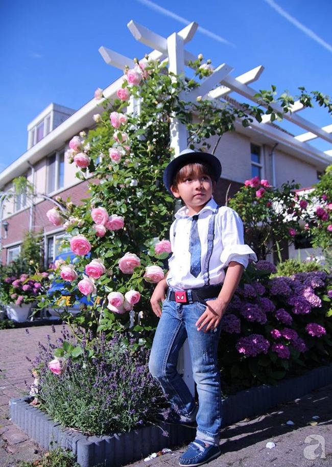 Vẻ đẹp cuốn hút của hoàng tử lai mang 2 dòng máu Việt – Hà Lan - Ảnh 5.