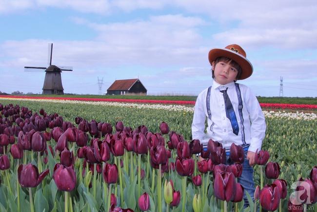 Vẻ đẹp cuốn hút của hoàng tử lai mang 2 dòng máu Việt – Hà Lan - Ảnh 24.