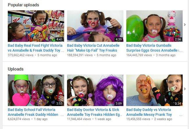 Có thể bạn không tin nhưng con bạn đang bị Youtube đầu độc hàng ngày như thế này đây - Ảnh 1.