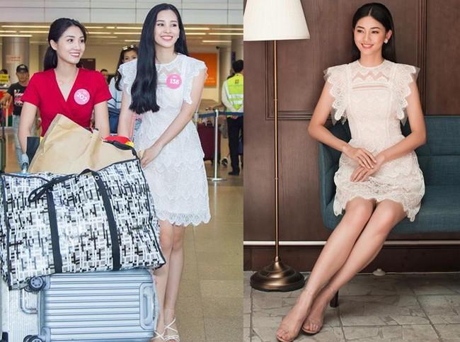 Mới đăng quang chưa đầy 1 tháng, HH Trần Tiểu Vy đụng váy áo liên hoàn với cả loạt người đẹp Vbiz - Ảnh 12.