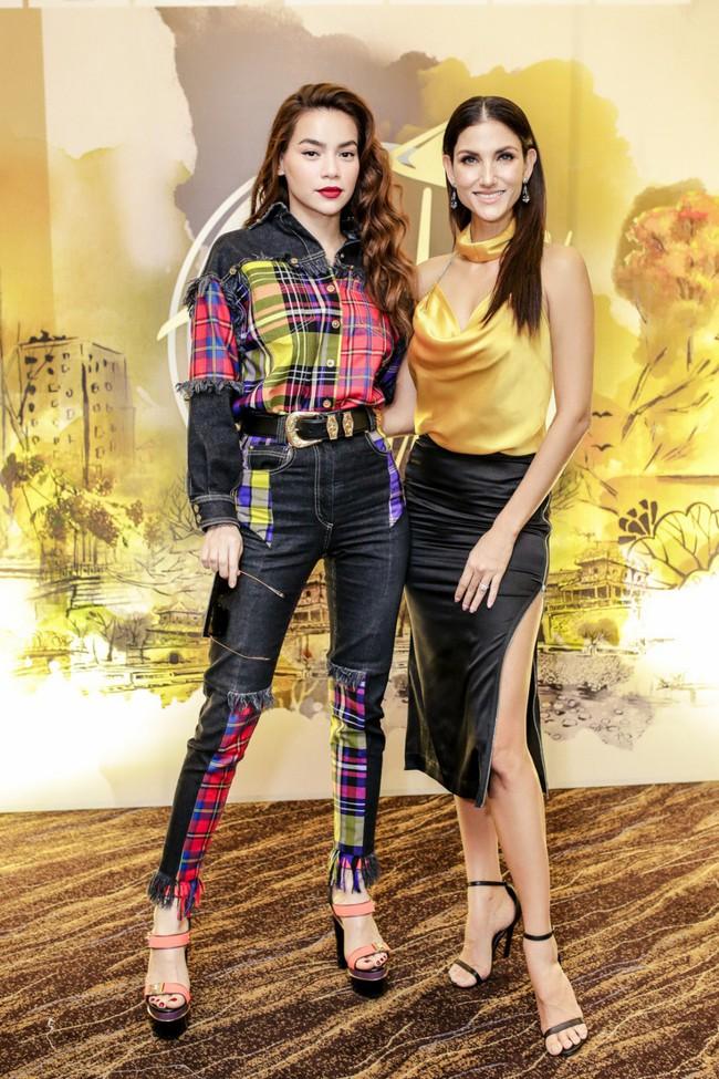 Hồ Ngọc Hà chất phát ngất khi đứng cạnh chị đại Next Top Model - Cindy Bishop - Ảnh 3.