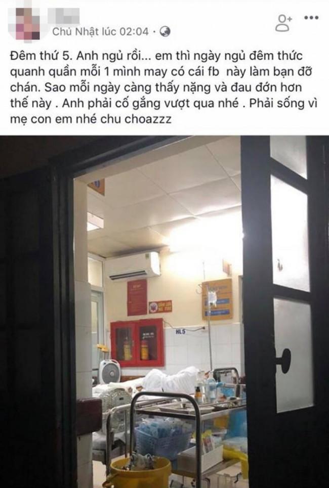 Vụ nam thanh niên bị chém nát chân ở Phú Thọ: Người vợ nói gì khi bị tố sống ảo, câu like lúc chăm chồng ở viện? - Ảnh 1.