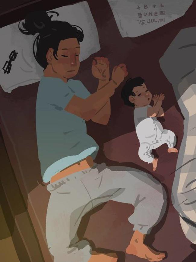 Ngắm khoảnh khắc bố chăm con ngọt ngào đến tan chảy, các mẹ mới nhận ra các bố cũng khéo lắm chứ! - Ảnh 17.