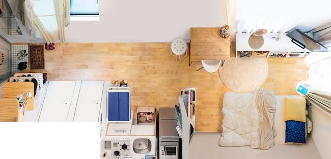 Sống một mình, căn hộ của cô gái Nhật Bản được sắp xếp ấn tượng khiến ai cũng muốn học tập - Ảnh 3.
