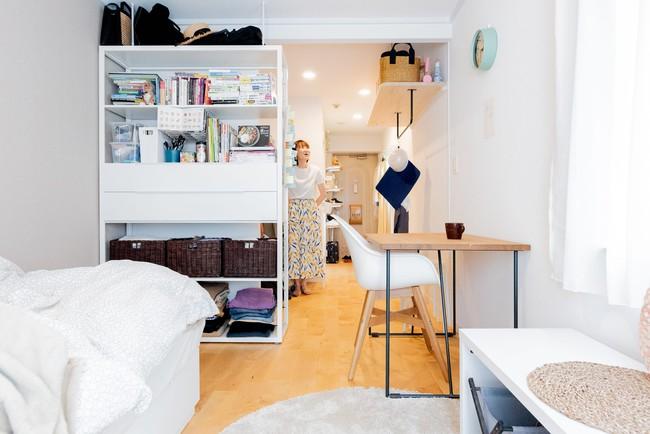 Sống một mình, căn hộ của cô gái Nhật Bản được sắp xếp ấn tượng khiến ai cũng muốn học tập - Ảnh 4.