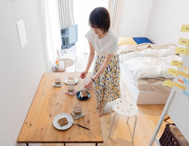 Sống một mình, căn hộ của cô gái Nhật Bản được sắp xếp ấn tượng khiến ai cũng muốn học tập - Ảnh 10.
