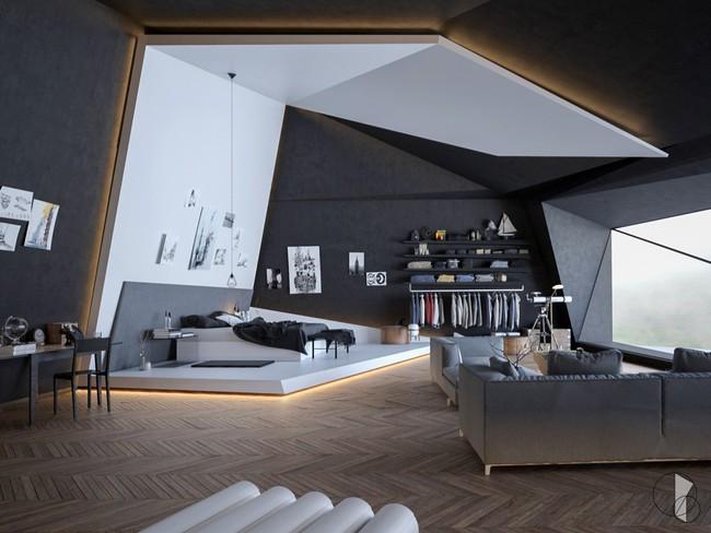 Biến tấu phòng ngủ theo những kiểu trang trí mới mẻ này, bạn sẽ thấy những giấc mơ thanh xuân như ùa về - Ảnh 10.