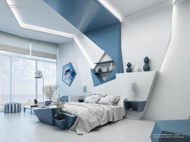 Biến tấu phòng ngủ theo những kiểu trang trí mới mẻ này, bạn sẽ thấy những giấc mơ thanh xuân như ùa về - Ảnh 11.