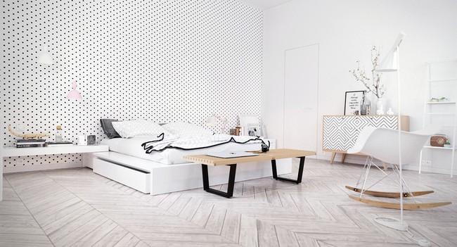 Biến tấu phòng ngủ theo những kiểu trang trí mới mẻ này, bạn sẽ thấy những giấc mơ thanh xuân như ùa về - Ảnh 13.
