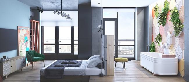 Biến tấu phòng ngủ theo những kiểu trang trí mới mẻ này, bạn sẽ thấy những giấc mơ thanh xuân như ùa về - Ảnh 2.