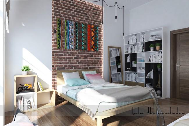 Biến tấu phòng ngủ theo những kiểu trang trí mới mẻ này, bạn sẽ thấy những giấc mơ thanh xuân như ùa về - Ảnh 21.