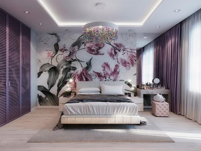 Biến tấu phòng ngủ theo những kiểu trang trí mới mẻ này, bạn sẽ thấy những giấc mơ thanh xuân như ùa về - Ảnh 3.
