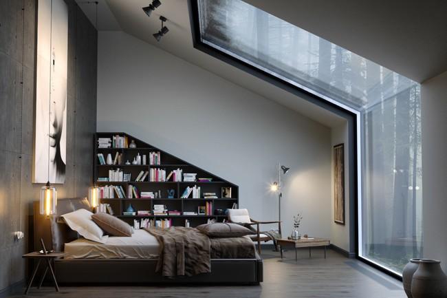 Biến tấu phòng ngủ theo những kiểu trang trí mới mẻ này, bạn sẽ thấy những giấc mơ thanh xuân như ùa về - Ảnh 9.