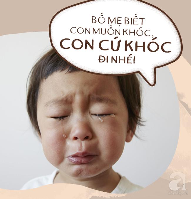 Có 7 câu nói diệu kì giúp trẻ tự nín khóc hiệu quả mà bố mẹ chẳng cần quát mắng, nạt nộ - Ảnh 2.