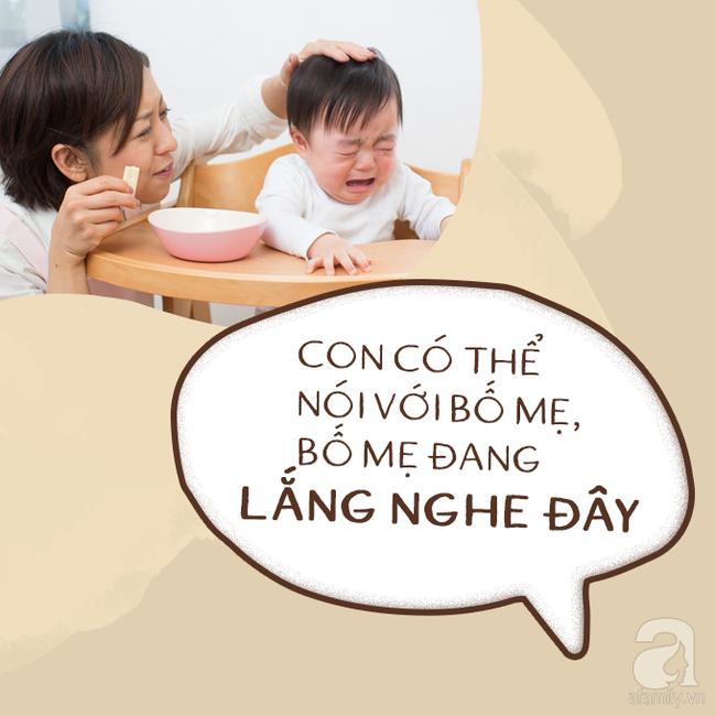 Có 7 câu nói diệu kì giúp trẻ tự nín khóc hiệu quả mà bố mẹ chẳng cần quát mắng, nạt nộ - Ảnh 8.
