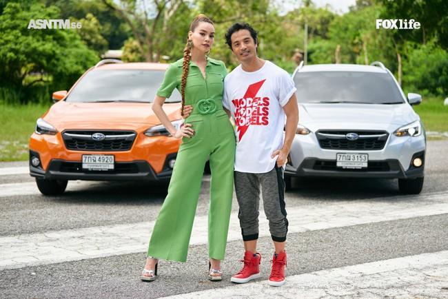 Hà Hồ cực nóng bỏng và thời trang tại Asia's Next Top Model, được khen hết lời khi nhiệt tình thị phạm thí sinh - Ảnh 2.