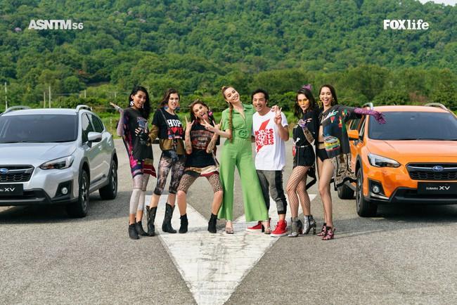 Hà Hồ cực nóng bỏng và thời trang tại Asia's Next Top Model, được khen hết lời khi nhiệt tình thị phạm thí sinh - Ảnh 4.
