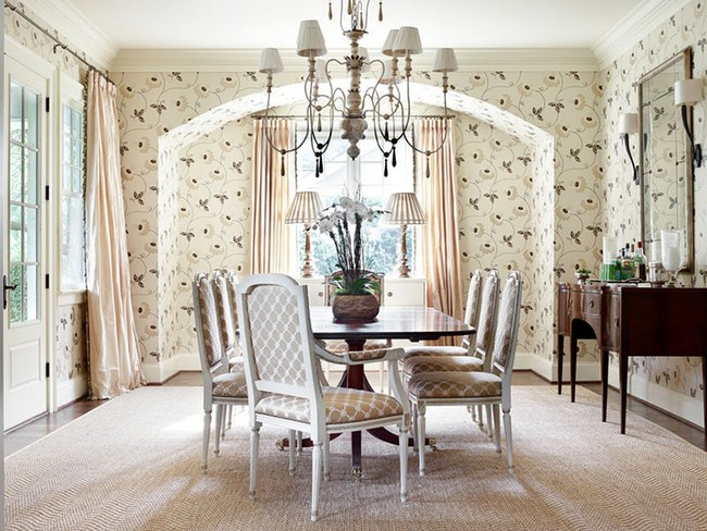 Tuyệt chiêu lựa chọn rèm cửa để nâng tầm vẻ đẹp của căn phòng ăn gia đình để đón xuân mới - Ảnh 9.