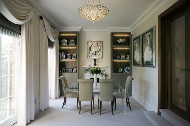 Tuyệt chiêu lựa chọn rèm cửa để nâng tầm vẻ đẹp của căn phòng ăn gia đình để đón xuân mới - Ảnh 12.