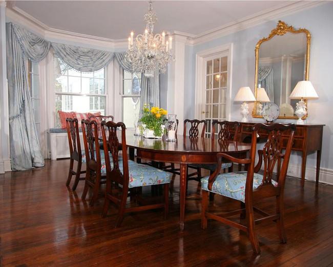Tuyệt chiêu lựa chọn rèm cửa để nâng tầm vẻ đẹp của căn phòng ăn gia đình để đón xuân mới - Ảnh 13.