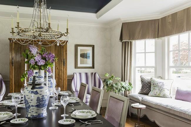 Tuyệt chiêu lựa chọn rèm cửa để nâng tầm vẻ đẹp của căn phòng ăn gia đình để đón xuân mới - Ảnh 19.