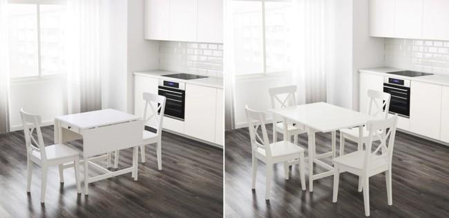 10 thiết kế bàn gấp giúp gia chủ tiết kiệm được diện tích sống tối đa - Ảnh 1.