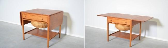 10 thiết kế bàn gấp giúp gia chủ tiết kiệm được diện tích sống tối đa - Ảnh 12.
