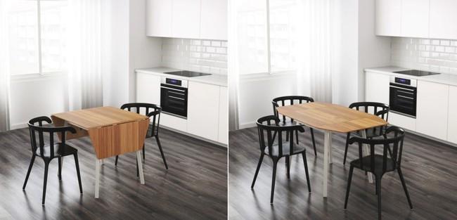 10 thiết kế bàn gấp giúp gia chủ tiết kiệm được diện tích sống tối đa - Ảnh 2.