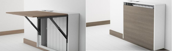 10 thiết kế bàn gấp giúp gia chủ tiết kiệm được diện tích sống tối đa - Ảnh 4.