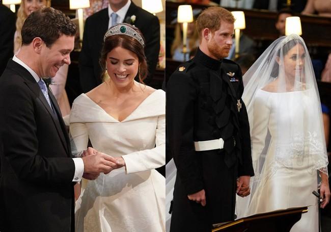 Không chỉ hở bạo, váy cưới của cháu gái Nữ hoàng Anh còn có điểm đặc biệt này khác xa Meghan Markle và Kate Middleton - Ảnh 8.