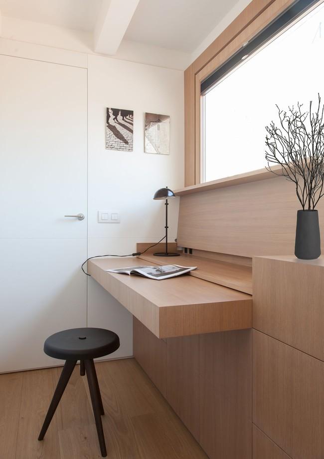 Nhà nhỏ nhưng không bí bách nhờ những món đồ nội thất đa chức năng   - Ảnh 3.