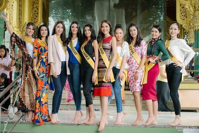 Đối thủ nặng ký của Phương Nga tại Miss Grand 2018: nhan sắc giống Lan Khuê như tạc, khi cười lại na ná Thụy Vân - Ảnh 2.