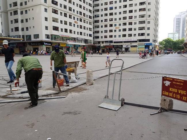 Hà Nội: Cư dân HH Linh Đàm sôi sục sau vụ tai nạn do xuất hiện dây xích chắn ngang đường - Ảnh 4.