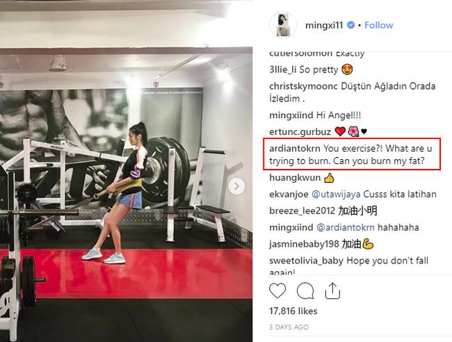 Gầy đáng báo động nhưng vẫn tập luyện hùng hục cho Victorias Secret Show, Ming Xi bị fan hỏi: Làm gì còn mỡ đâu mà đốt? - Ảnh 3.