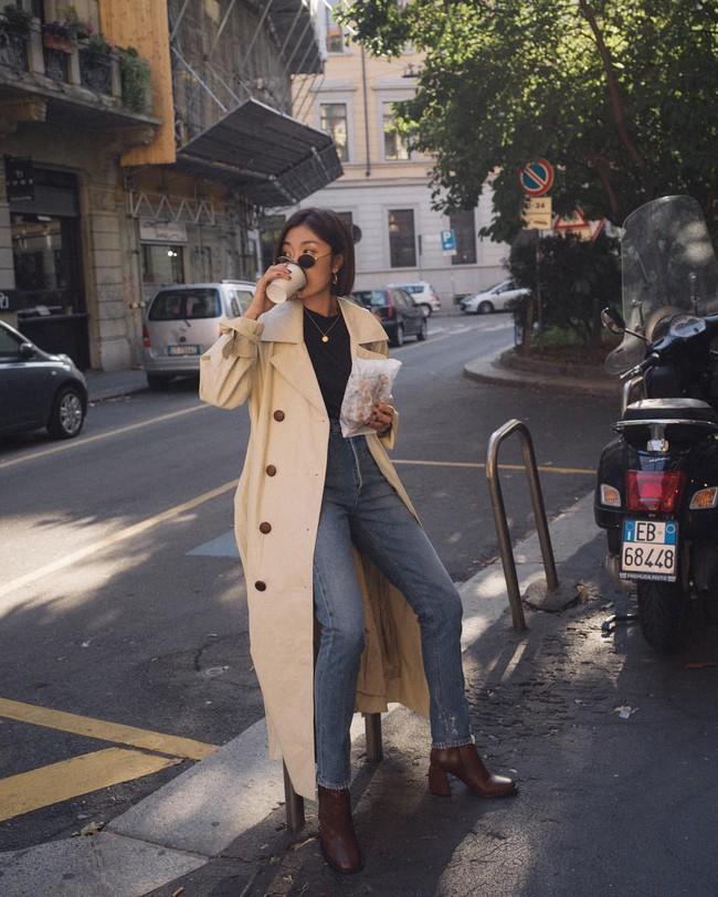 """""""Ngôi sao"""" của mùa đông chính là quần jeans và 15 set đồ sau sẽ giúp các nàng biến hóa tài tình với item này - Ảnh 12."""