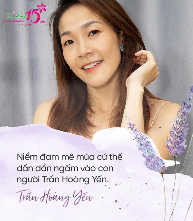 """Nghệ sĩ múa Trần Hoàng Yến: """"Chuyện được múa với Yến quan trọng hơn mọi cơn đau mà cơ thể chịu"""" - Ảnh 3."""