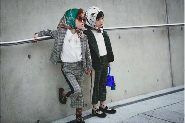 Cứ đến Seoul Fashion Week, dân tình chỉ ngóng trông street style vừa chất vừa yêu của những fashionista nhí này - Ảnh 12.