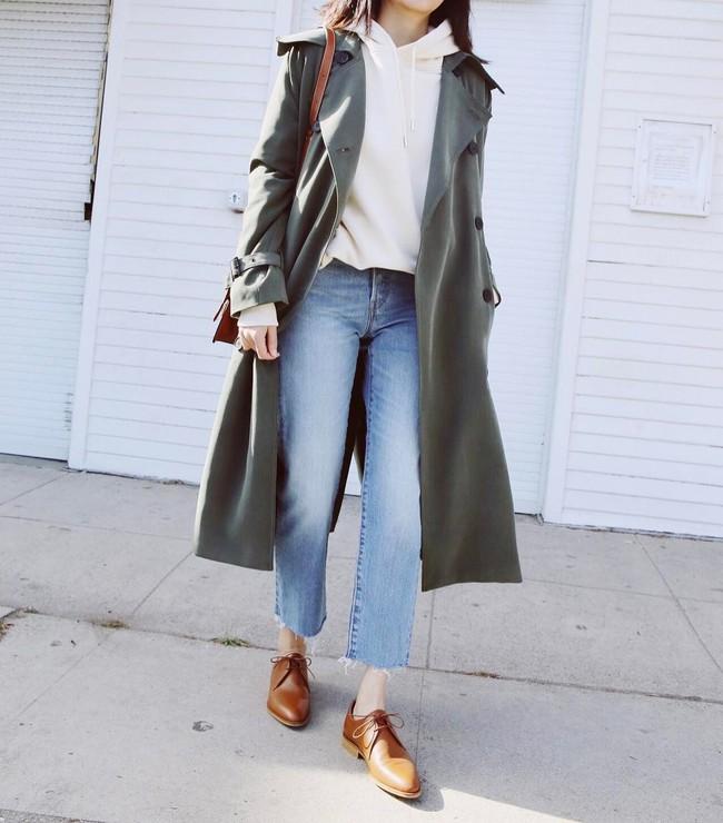 15 công thức diện áo trench coat đẹp miễn chê, xứng đáng để các nàng áp dụng suốt mùa đông này - Ảnh 4.