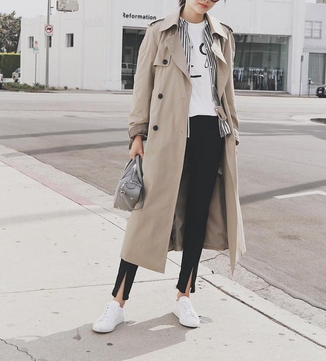 15 công thức diện áo trench coat đẹp miễn chê, xứng đáng để các nàng áp dụng suốt mùa đông này - Ảnh 5.