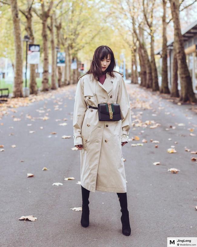15 công thức diện áo trench coat đẹp miễn chê, xứng đáng để các nàng áp dụng suốt mùa đông này - Ảnh 6.